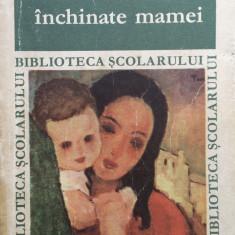 GANDURI INCHINATE MAMEI - Antologie de Victor Craciun (Biblioteca Scolarului) - Carte Antologie