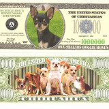 USA 1 Million Dollars Caine Chihuahua UNC - bancnota america