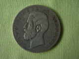 5 lei 1884 ROMANIA - Argint, Europa