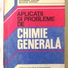 """APLICATII SI PROBLEME DE CHIMIE GENERALA"", Nelly Demian, 1980. Carte noua, Alta editura"