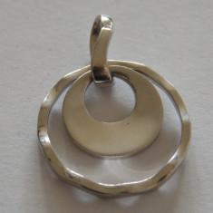 Pandantiv argint cercuri - 627