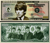 USA 1 Million Dollars Beatles George Harrison UNC