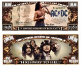 USA 1 Million Dollars AC/DC Bon Scott UNC
