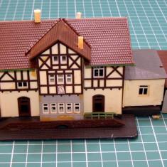 Casa cu dependinte scara N(4574) - Macheta Feroviara, N, Accesorii
