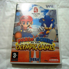 Mario and Sonic at the olympic Games Beijing 2008, Wii, original! - Jocuri WII Sega, Actiune, 3+, Single player
