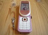 Telefon Nokia 7373 roz / pink / nou /, Neblocat