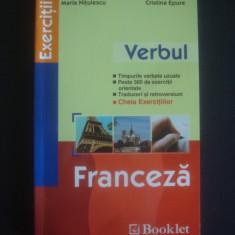 MARIA NITULESCU, CRISTINA EPURE - VERBUL * FRANCEZA - Curs Limba Franceza Altele