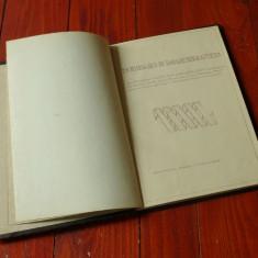 Carte tehnica in limba germana - 1943 / 38 pag!