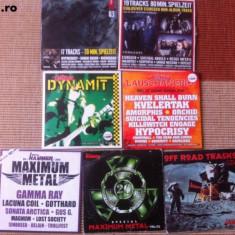 muzica heavy metal compilatii 7 cd disc hammer maximum rock dynamit emp legacy