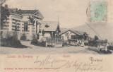 SALUTARI  DIN  ROMANIA   PREDEAL   GRANITA   TCV   CLASICA  CIRCULATA  SEP. 1902, Printata