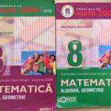 MATE 2000 MATEMATICA ALGEBRA, GEOMETRIE CLASA 8 (2 volume) - Culegere Matematica