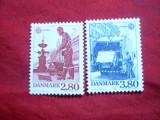 Serie Danemarca 1986 Europa CEPT -Natura  , 2 val.