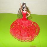 Mica PAPUSA spaniola de COLECTIE marca GRAIN ESPANA, dansatoare de FLAMENCO (1) - Papusa de colectie