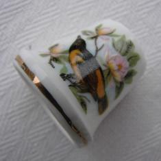 Degetar din portelan suedez marca GULDKROKEN, Decorative