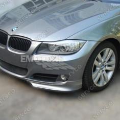 Prelungire difuzor adaos fusta splittere bara fata BMW E90 LCI 2009 - 2012 - Spoiler, 3 (E90) - [2005 - 2013]
