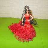Mica PAPUSA spaniola de COLECTIE marca GRAIN ESPANA, dansatoare de FLAMENCO (2) - Papusa de colectie
