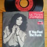 La Toya Jackson - If You Feel The Funk (1981, Polydor) Disc vinil single 7