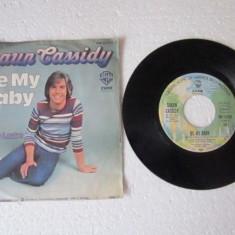 "Shaun Cassidy - Be My Baby (1977, Warner) Disc vinil single 7"" super-hit - Muzica Pop"