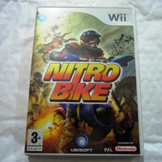 Nitro Bike, Wii, original, alte sute de jocuri! - Jocuri WII Altele, Curse auto-moto, 3+, Single player