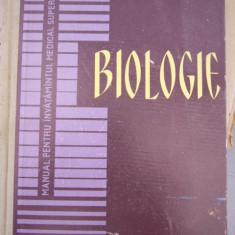 CC43 - BIOLOGIE - PENTRU INVATAMANTUL MEDICAL SUPERIOR - 1963 - Curs Medicina