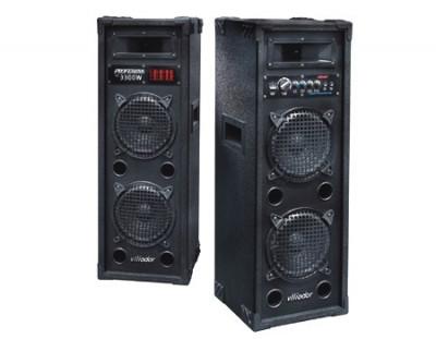 BOXE ACTIVE 700 WATT ,MIXER,BLUETOOTH, MP3 STICK USB/CARD,EQ,EFECTE,MICROFOANE. foto