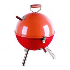 Mini Barbeque - portocaliu - rosu - Gratar Gradina