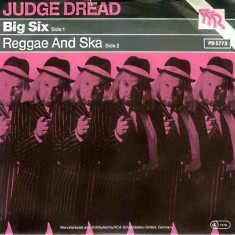 Judge Dread - Big Six (1980, TTR) Disc vinil single 7