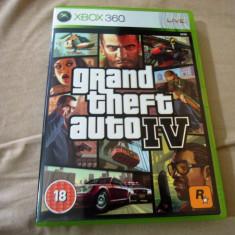 Joc GTA IV, Grand Theft Auto, GTA 4, XBOX360, original, alte sute de jocuri! - Jocuri Xbox 360, Actiune, 18+, Single player