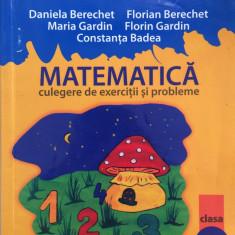 MATE 2000 MATEMATICA CULEGERE DE EXERCITII SI PROBLEME CLASA IV Berechet, Gardin - Manual scolar paralela 45, Clasa 4, Paralela 45
