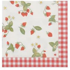 Servetele de hartie Strawberry garden - Album foto