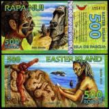 Easter Island 2012 - 500 rongo UNC