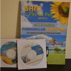Ghid pentru accesarea fondurilor europene in agricultura si piscicultura+2CD#115 - Carte afaceri