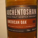 whisky - R A R E  Whiskey  auchentoshan, SINGLE MAL,  cl.70 gr. 40  U.S.A.