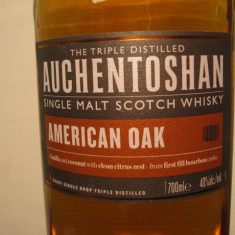 Whisky - R A R E Whiskey auchentoshan, SINGLE MAL, cl.70 gr. 40 U.S.A.