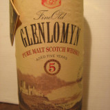 Whisky glenlomyn, PURE MALT scotch whisky, cl.70 gr.40 ani 80
