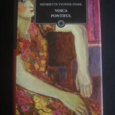 HENRIETTE YVONNE STAHL - VOICA PONTIFUL