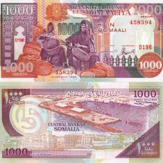 SOMALIA 1.000 shillings 1996 UNC!!! - bancnota africa
