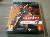 Joc Singstar + Guitar, PS3, original, alte sute de jocuri!, Simulatoare, 12+, Multiplayer, Sony