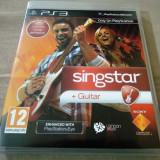Joc Singstar + Guitar, PS3, original, alte sute de jocuri!