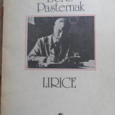 Lirice - Boris Pasternak, 530271 - Carte poezie