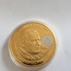 Medalie religioasa PAPA IOAN PAUL al II-lea LA BEATIFICATIONE 2011