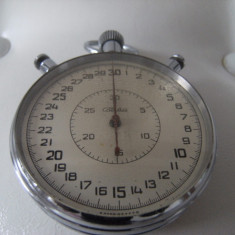 Deosebit cronometru rusesc, mare, marcat SLAVA, are 20 de rubine, de colectie.