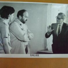 Radu Beligan George Constantin Galax 1984 Ion Popescu - Gopo foto Romaniafilm, Bucuresti, Necirculata, Fotografie