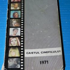 Carnetul cinefilului 1971 (09603 - Carte Cinematografie