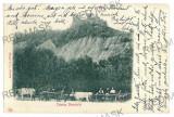 1744 - Cetatea NEAMTULUI, Neamt, ox carts, Litho - old postcard - used - 1902, Circulata, Printata