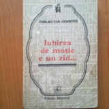 G0 VASILE VASILE - IUBIREA DE MOSIE E UN ZID... - Filosofie