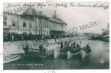 1823 - GALATI, Navy Palace - old postcard, real PHOTO - unused, Necirculata, Printata