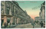 1649 - BUCURESTI, Lipscani street - old postcard - used - 1908