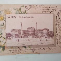 Vedere Austria Wien-Schonbrunn, 1900, Circulata, Fotografie