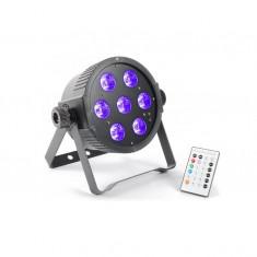 Beamz Flat PAR 7x 15W (reali) RGBAW - Laser lumini club